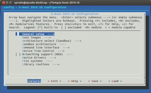 u-boot-menuconfig