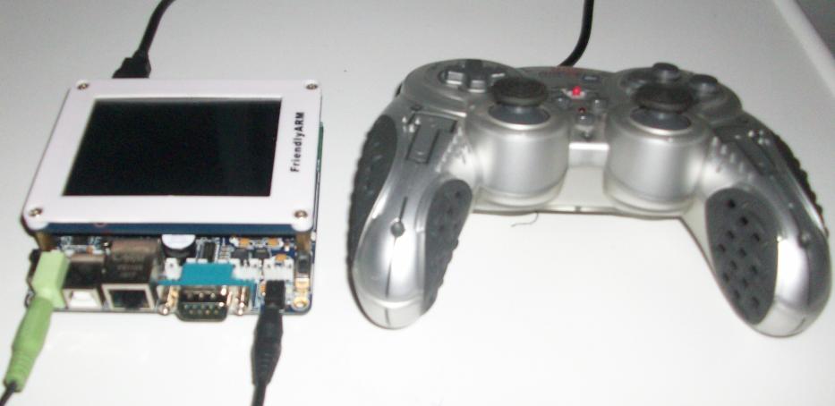 mini2440 atari system Mini2440   Emulando Atari com Linux embarcado